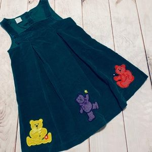Other - Vintage Colorful Teddy Dress